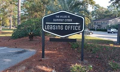 Community Signage, Villas at Summer Creek Apartments, 2