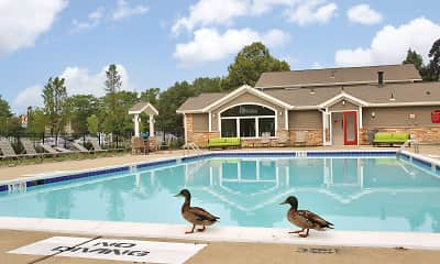 Pool, Addison at Princeton Meadows, 1