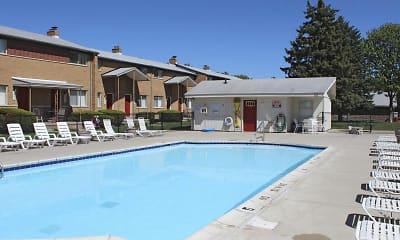 Pool, Village Townhomes, 1