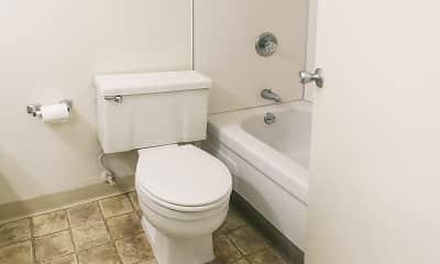 Bathroom, Magnolia Place, 2