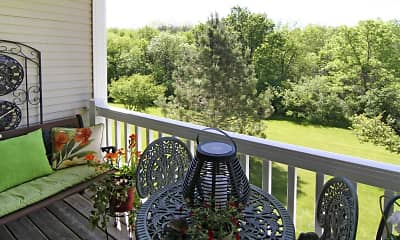 Patio / Deck, Wildwood Apartments, 2