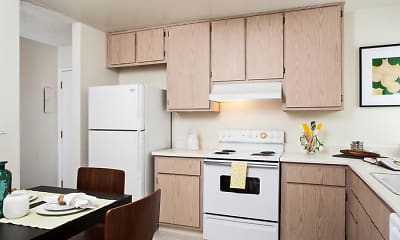 Kitchen, eaves Pacifica, 1