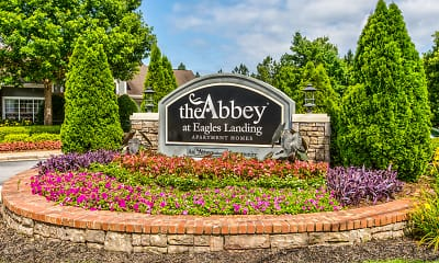 Community Signage, The Abbey at Eagle's Landing, 2
