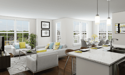 Living Room, The 85 at Maple Grove, 2