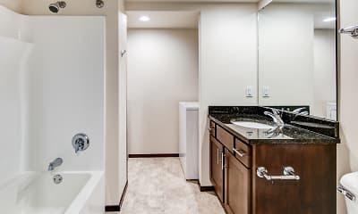 Bathroom, Galaxie High Rise Apartments, 2