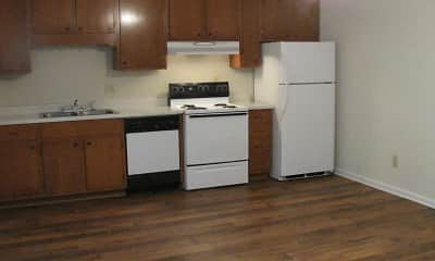 Kitchen, Oak Hill Apartment Homes, 1