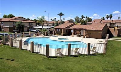 Pool, Fountain Oaks, 0