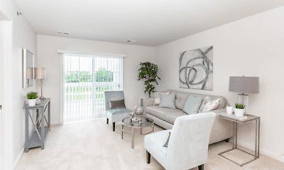 Living Room, Glenmary Grove Senior Apartments, 0