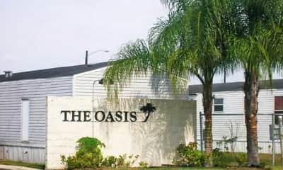 Community Signage, Oasis Manufactured Home Community, 0