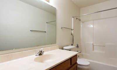 Bathroom, South Moor Apartments, 2