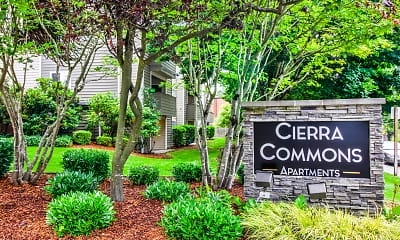 Community Signage, Cierra Commons, 2