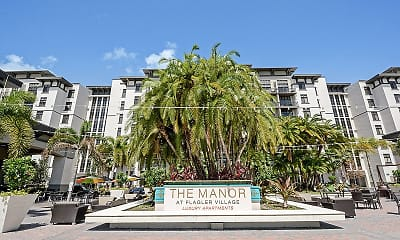 Community Signage, The Manor At Flagler Village, 0