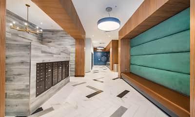 corridor featuring tile flooring, MAA National Landing, 2