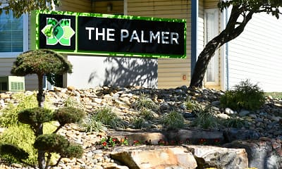 Community Signage, The Palmer, 2