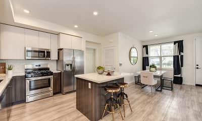Kitchen, Morgan Ranch Apartment Homes, 0