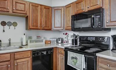 Kitchen, Gypsy Hill Place - Independent Living for Seniors 55+, 1