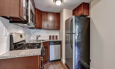 Kitchen, Village of Pennbrook Apartments, 1