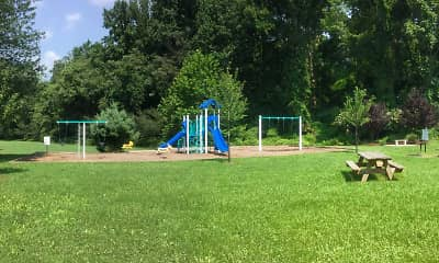 Playground, Round Hill Apartments of Chevy Chase, 2