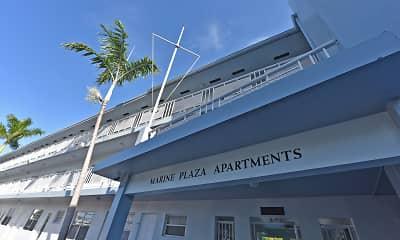 Community Signage, Marine Plaza, 1