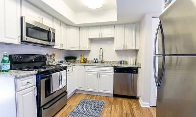 Kitchen, The Lake House At Martin's Landing, 0