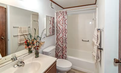 Bathroom, Oakland Hills Villas On The Lake, 2