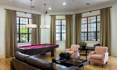 recreation room featuring a wealth of natural light, DeLayne at Twin Creeks, 1
