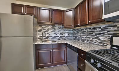 Kitchen, The Preserve at Owings Crossing Apartment Homes, 1