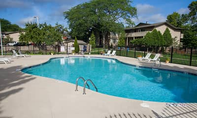 Pool, Windpoint Apartments, 1