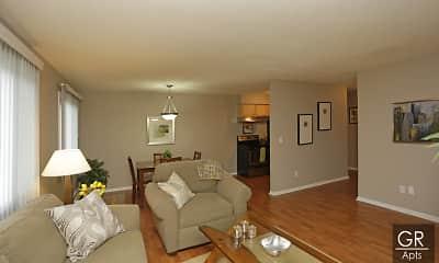 Living Room, Granite Ridge Apartments, 1