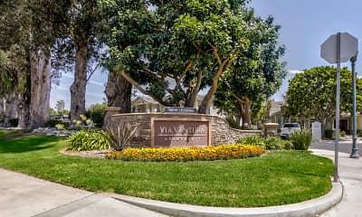 Community Signage, Via Ventura, 0
