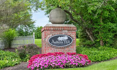 Community Signage, Auburn Hill Apartments, 2