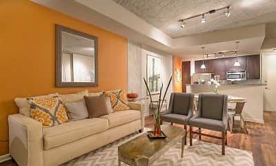Living Room, Elliston 23 Midtown, 1