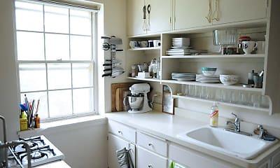 Kitchen, Fair Oaks Apartments, 1