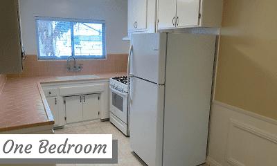 Kitchen, Tilden Apartments, 2