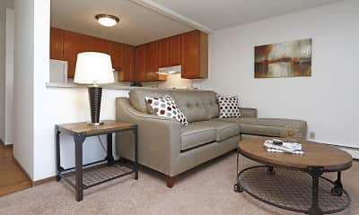 Living Room, Tylia Apartments, 2