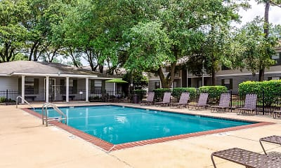 Pool, Knollwood Apartments, 2