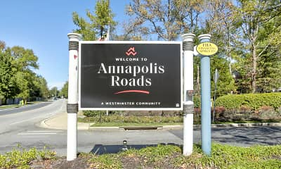 Community Signage, Annapolis Roads Apartments, 2
