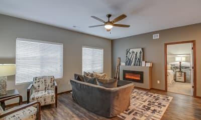 Living Room, HiPark - FrontNine, 1