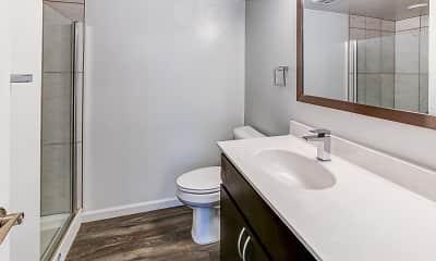 Bathroom, River Bend Apartments, 2