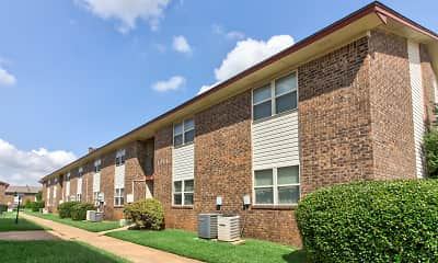 Building, Casady Apartments, 1