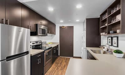 Kitchen, MOD Apartment Homes, 1