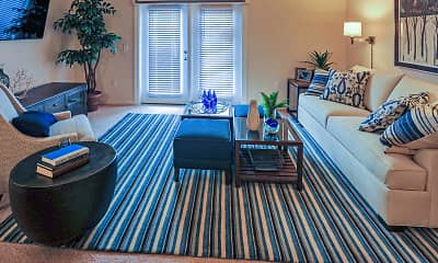 Living Room, Spring Water Apartments, 1