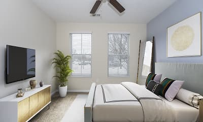 Living Room, Monmouth Row Apartments, 1