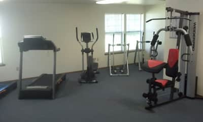 Fitness Weight Room, Chambers Crest, 2