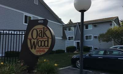 Community Signage, Oakwood Apartments, 0
