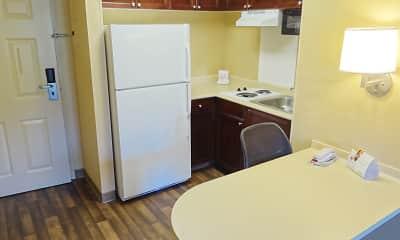 Kitchen, Furnished Studio - Durham - RTP - 4919 Miami Blvd., 1