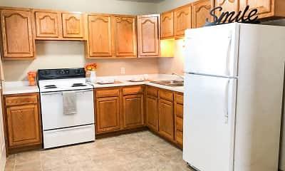 Kitchen, Town's Edge Apartments, 0