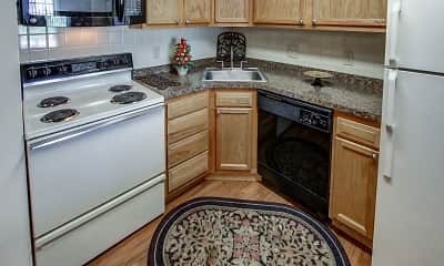 Kitchen, Quakertowne Apartments, 1