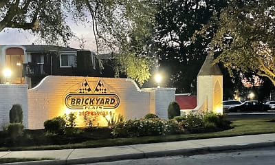 Community Signage, Brickyard Flats, 2