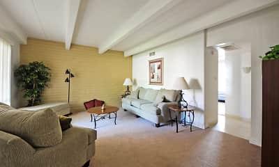 Living Room, Sunset Pointe, 1